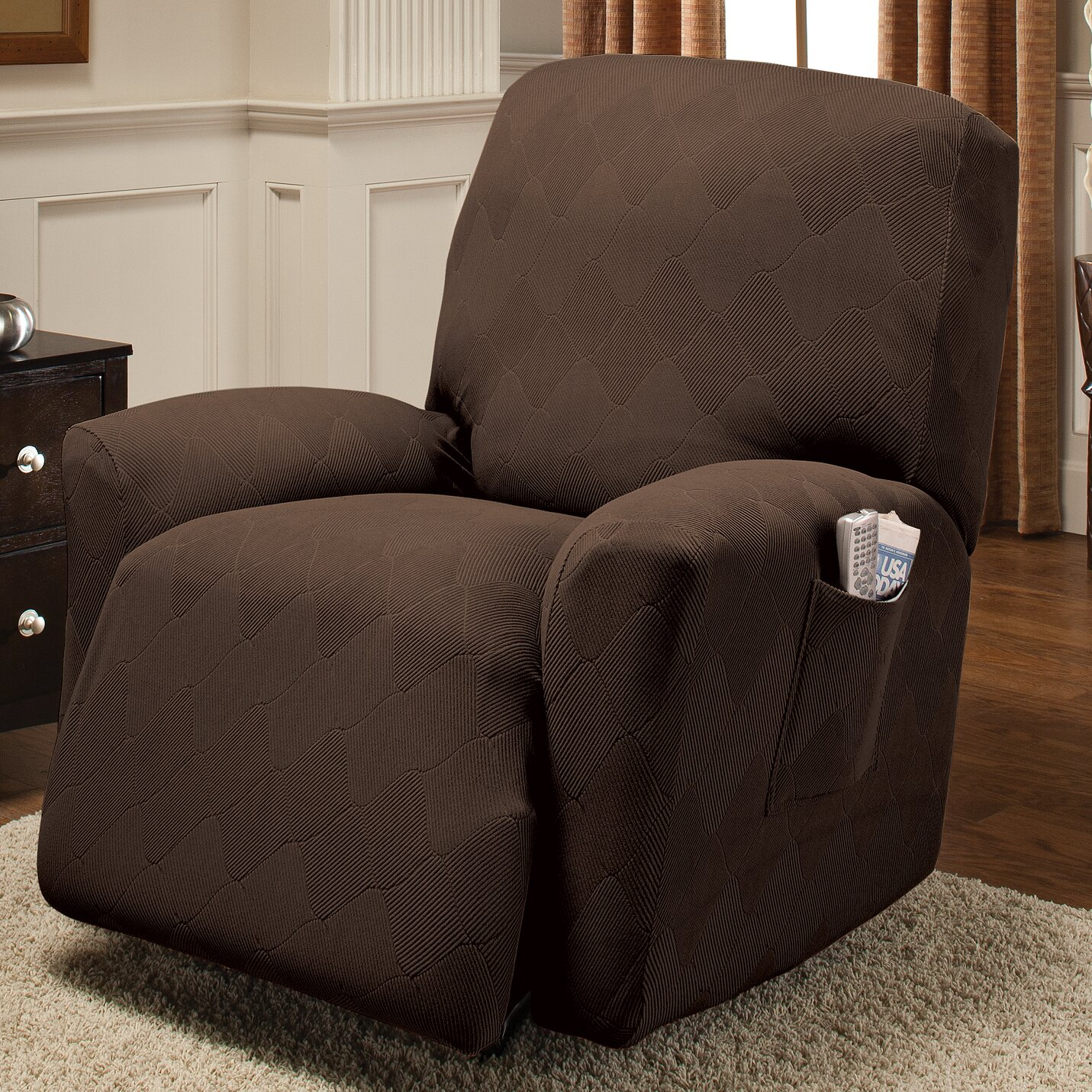 red barrel studio big island recliner slipcover reviews