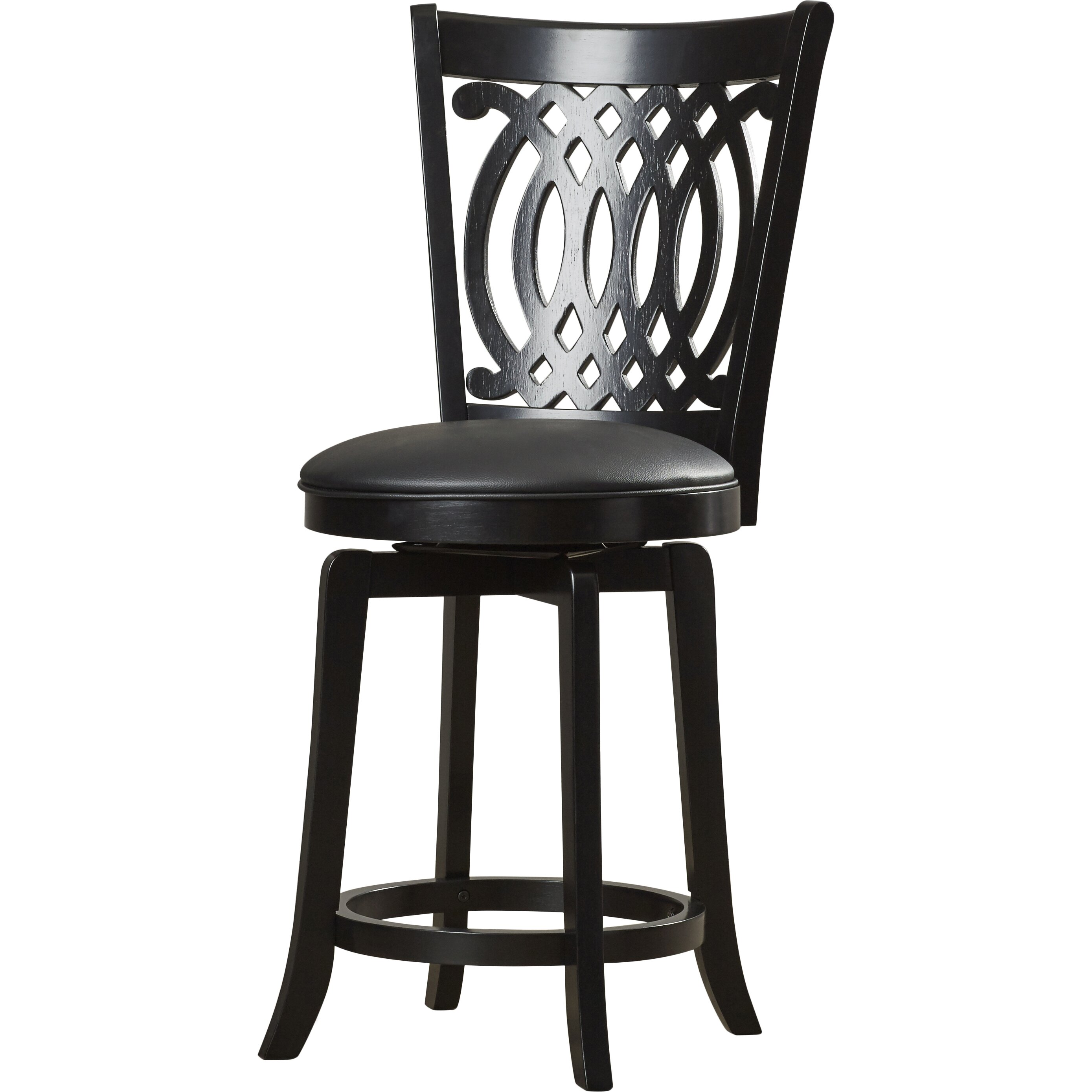 Red Barrel Studio Linden 24 Quot Swivel Bar Stool Amp Reviews