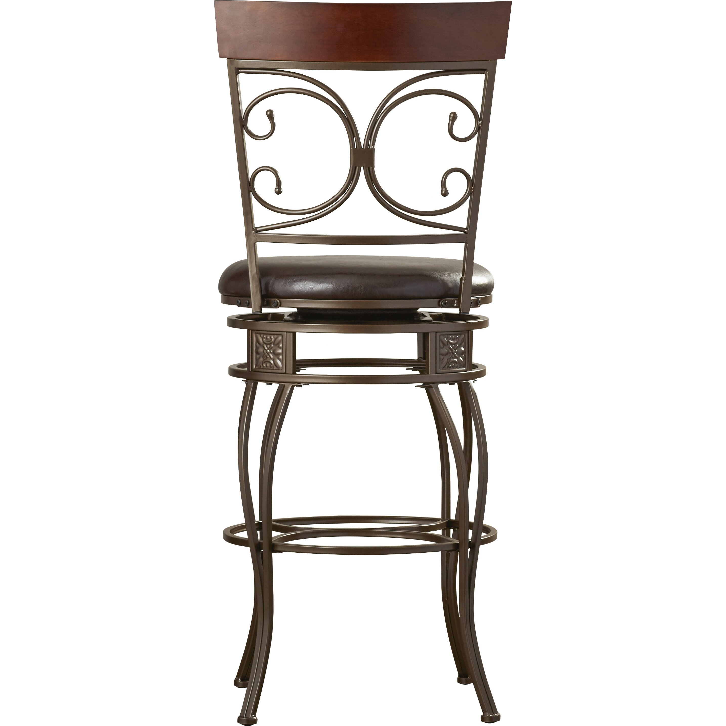 Red Barrel Studio Paladin Xl 30 Quot Swivel Bar Stool With