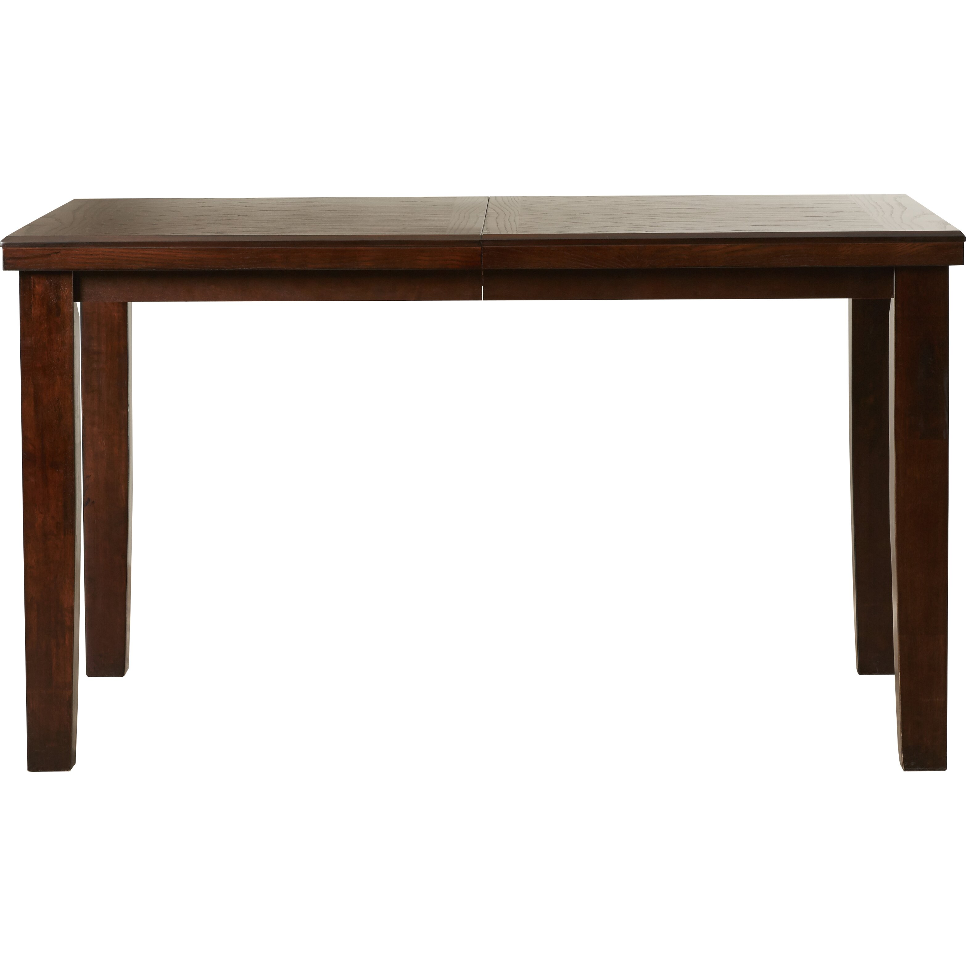 ... Vacchiano Counter Height Extendable Dining Table & Reviews Wayfair