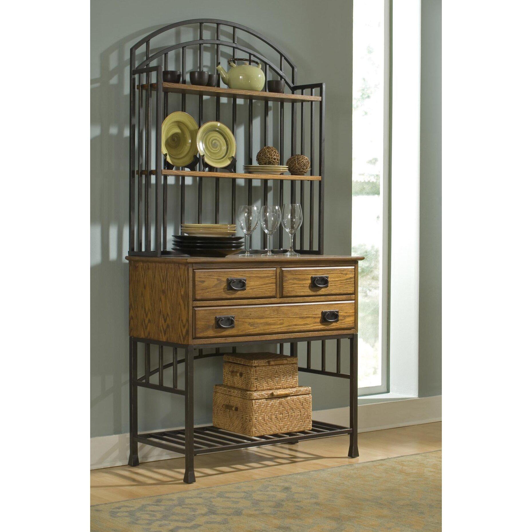 Red Barrel Studio Tramel Storage Baker's Rack & Reviews ...