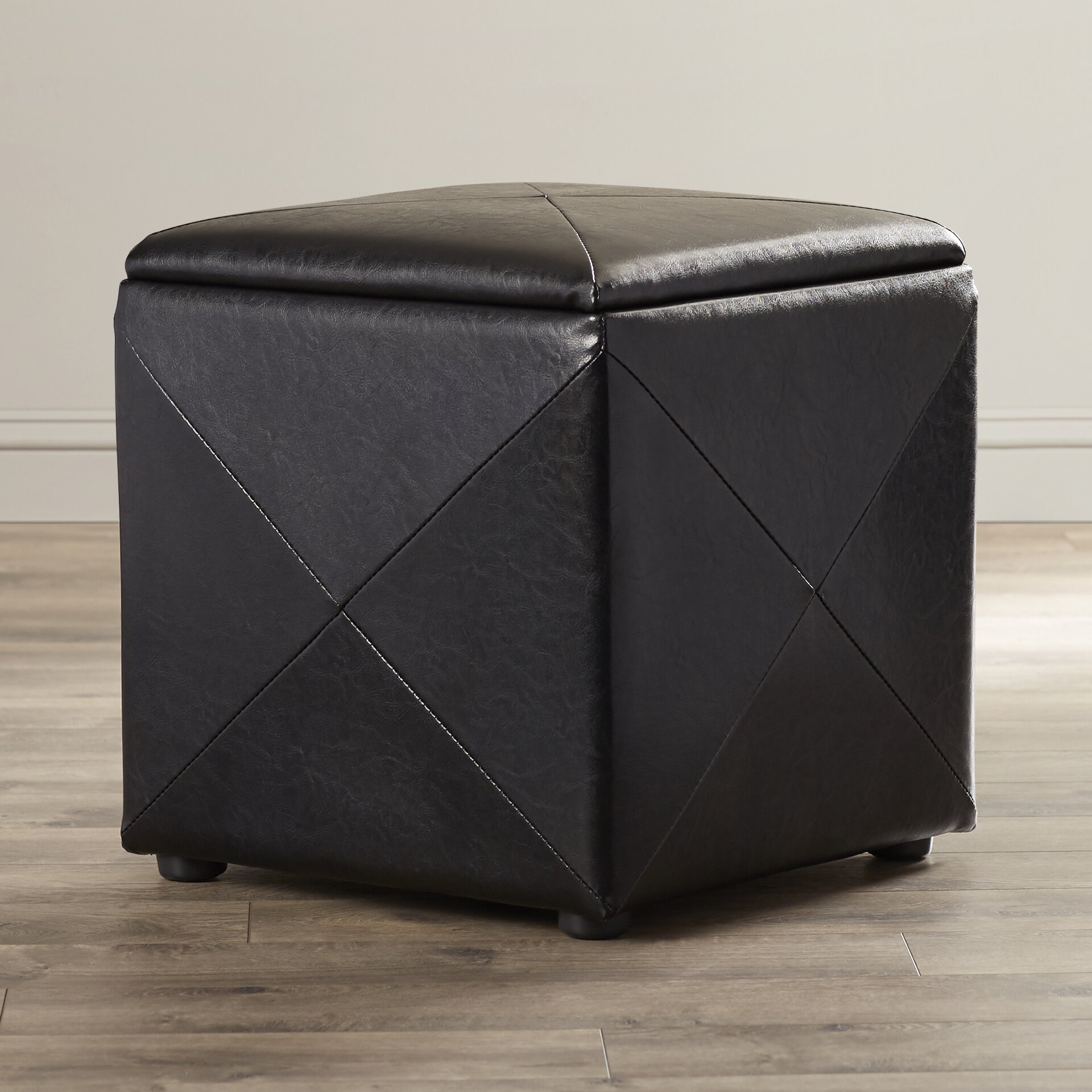 Red Barrel Studio West Seattle Cube Ottoman Reviews