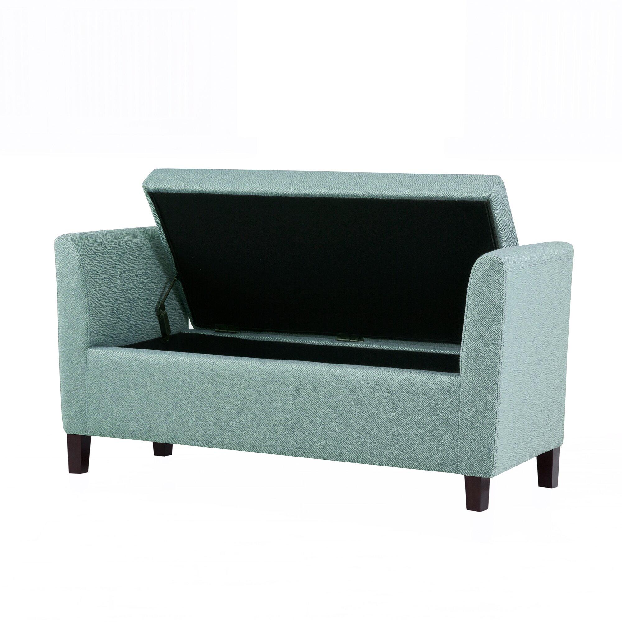 Red barrel studio craig upholstered storage bedroom bench reviews wayfair - Bedroom storage bench ...