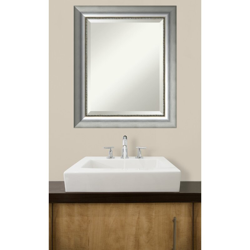 house of hampton bathroom wall mirror wayfair. Black Bedroom Furniture Sets. Home Design Ideas