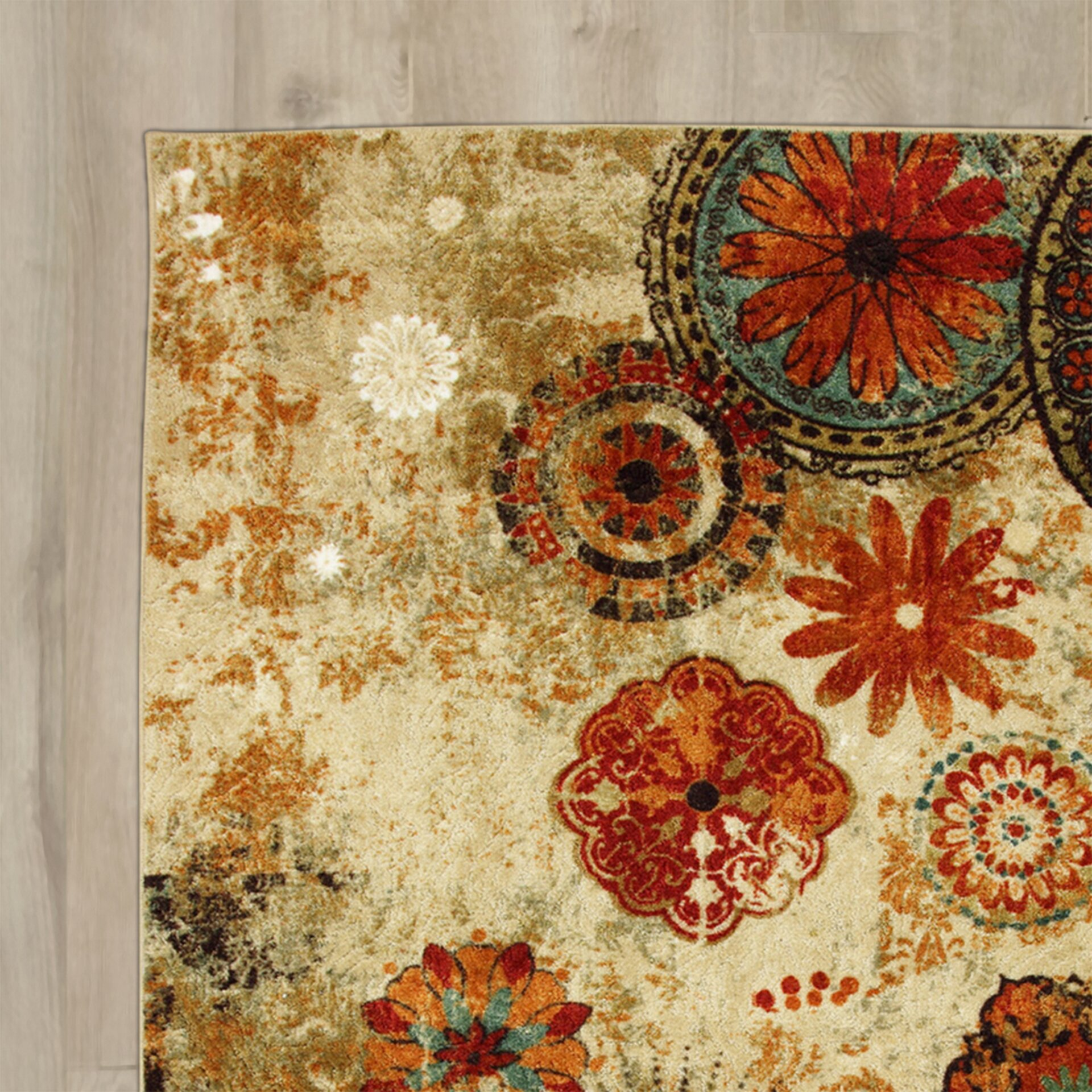 Red Barrel Studio Brainard Alexa Medallion Area Rug