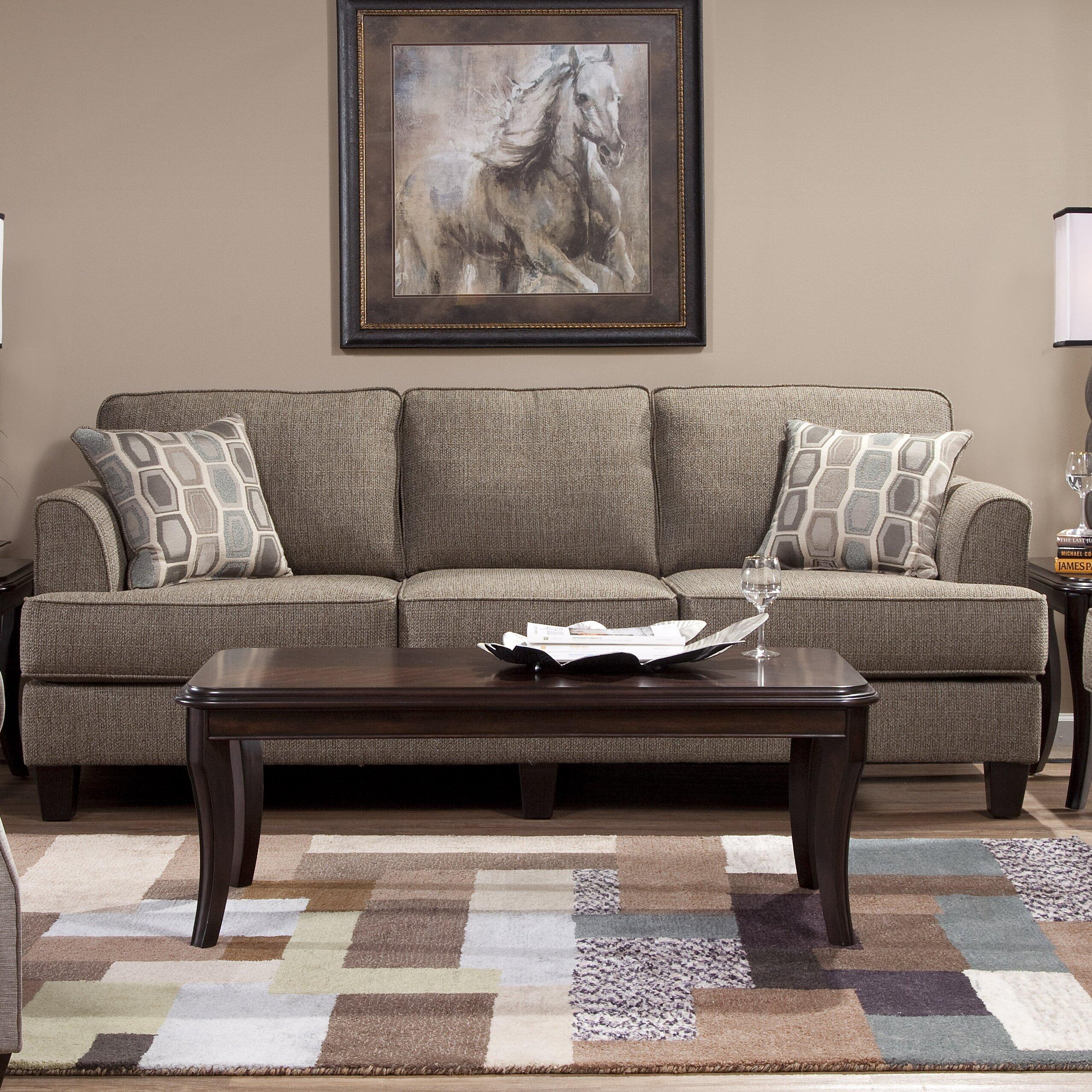 Red barrel studio serta upholstery dallas sofa reviews for Furniture one dallas