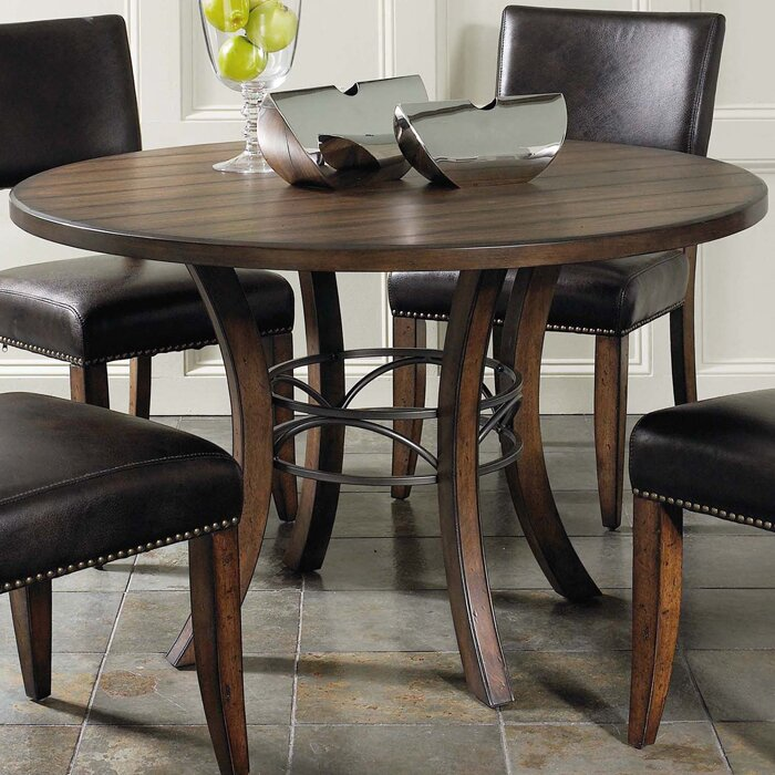 Red Barrel Studio Royalton Round Dining Table & Reviews