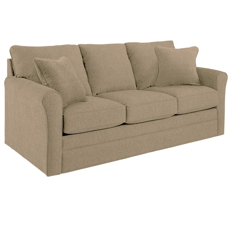 La z boy leah supreme comfort queen sleeper sofa wayfair for La z boy sectional sleeper sofa