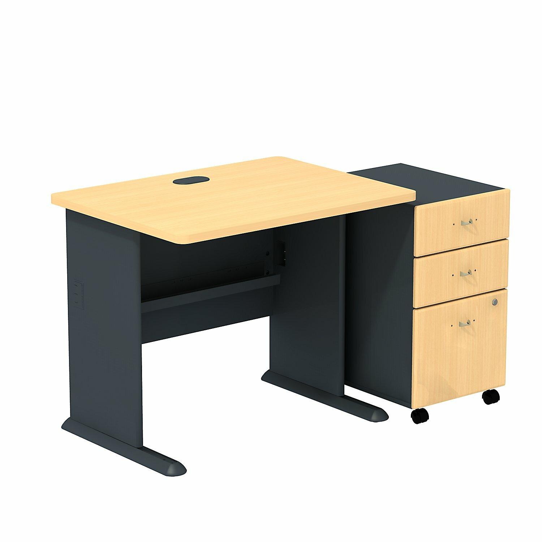 Bush business furniture series a computer desk reviews for Computer furniture