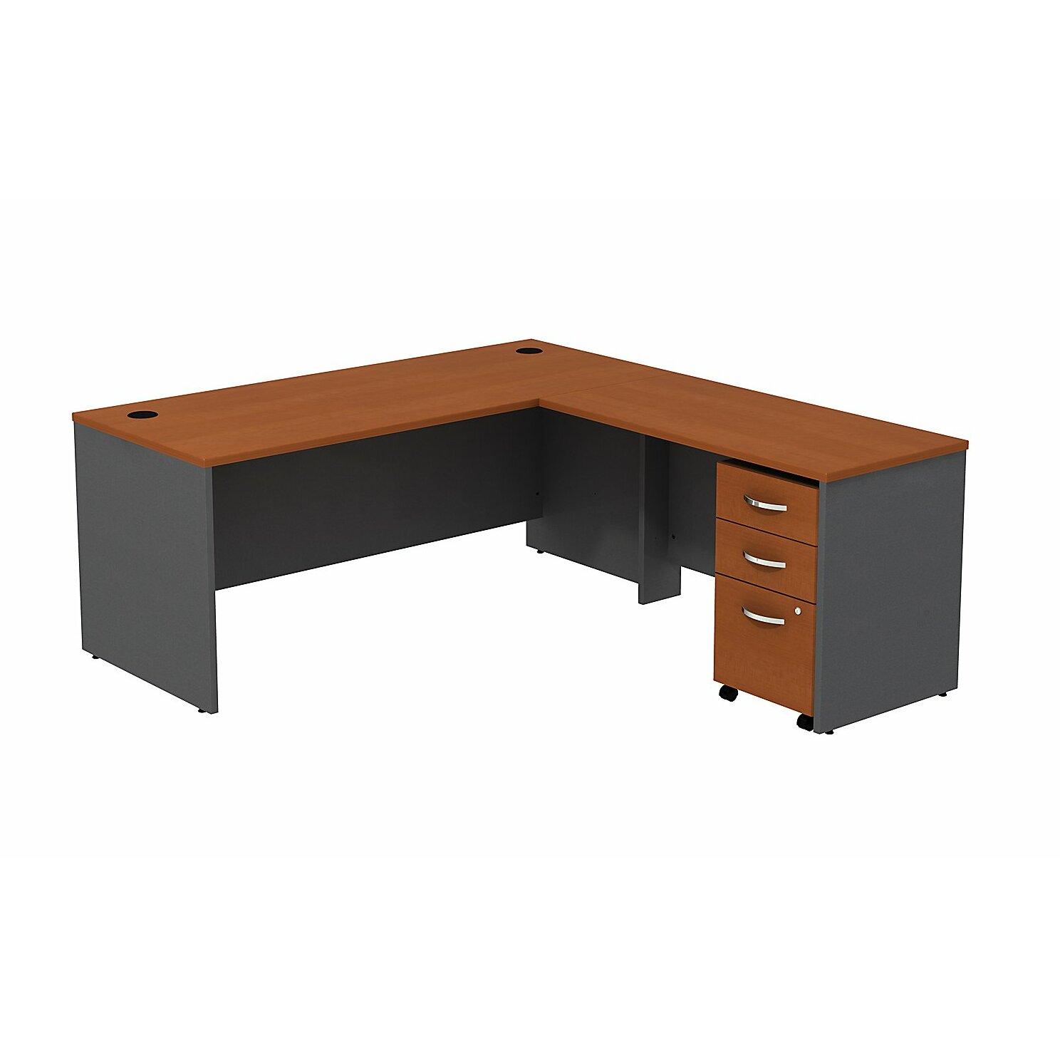 Bush Business Furniture Series C L Shape Computer Desk