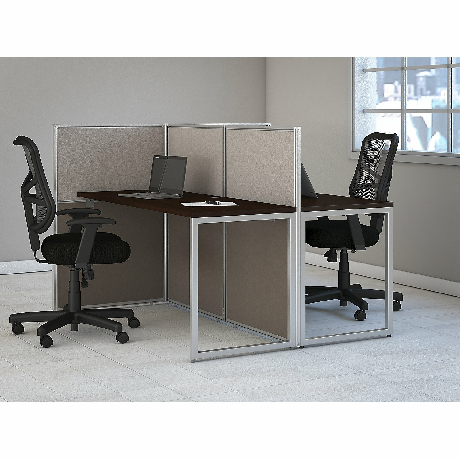 bush business furniture easy office standard desk office