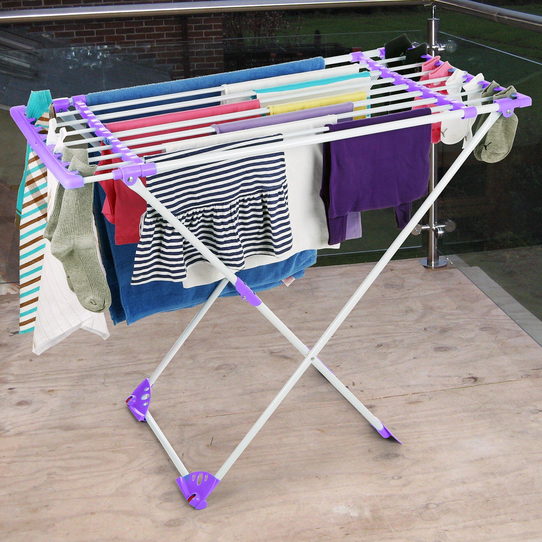 Bonita Flexy Clothes Dryer Stand Amp Reviews Wayfair