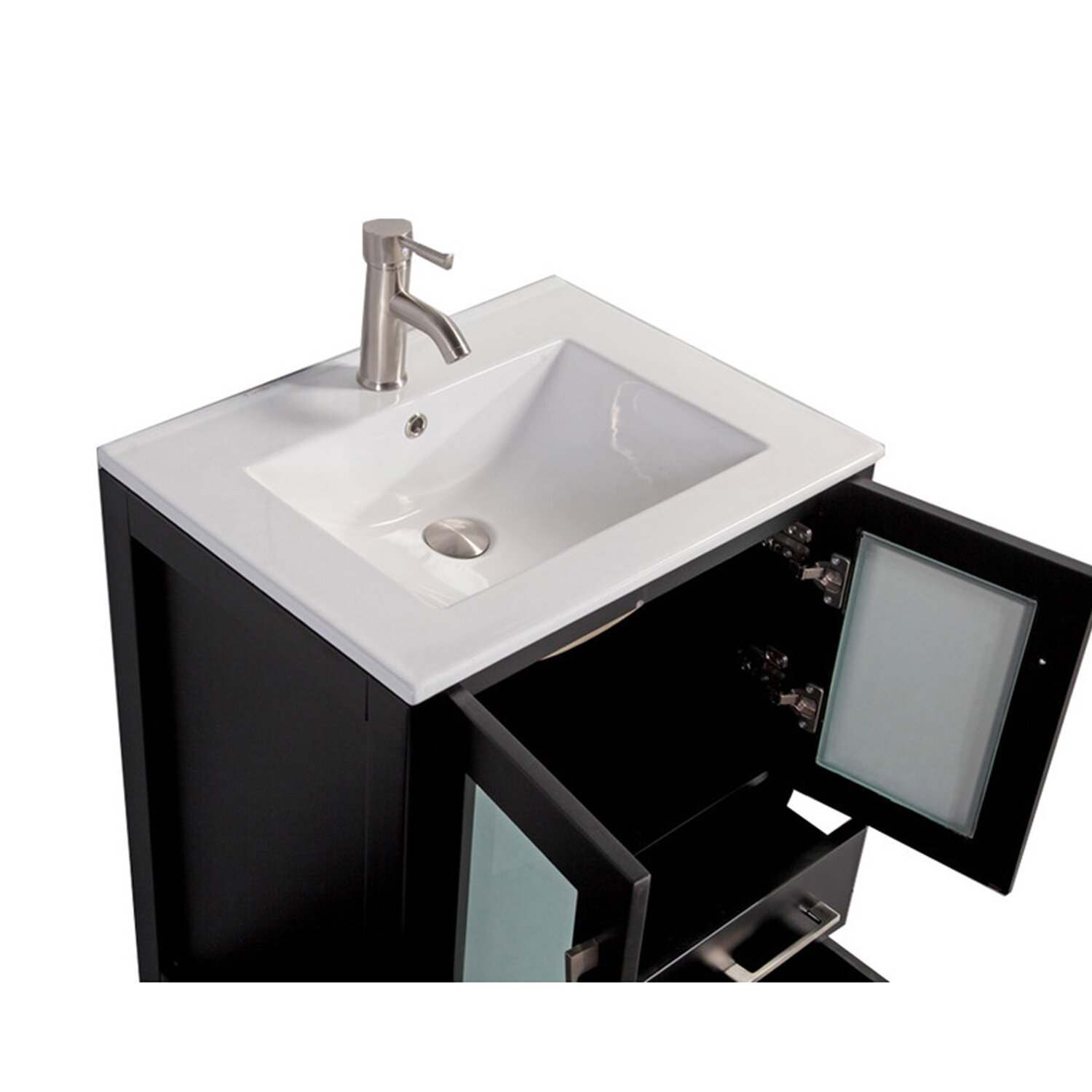 Mtdvanities Argentina 24 Single Sink Bathroom Vanity Set