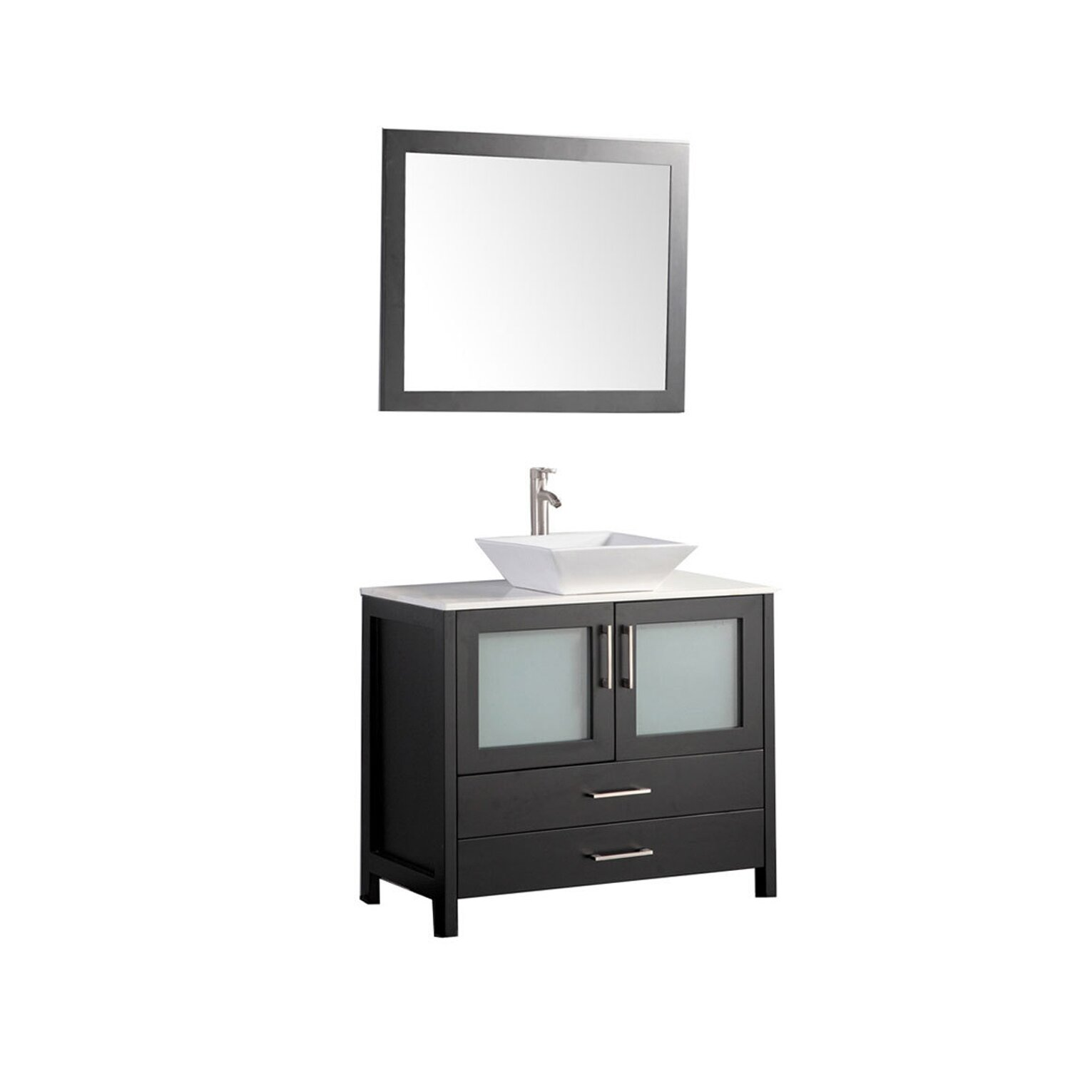 mtd vanities jordan 48 single sink bathroom vanity set with mirror