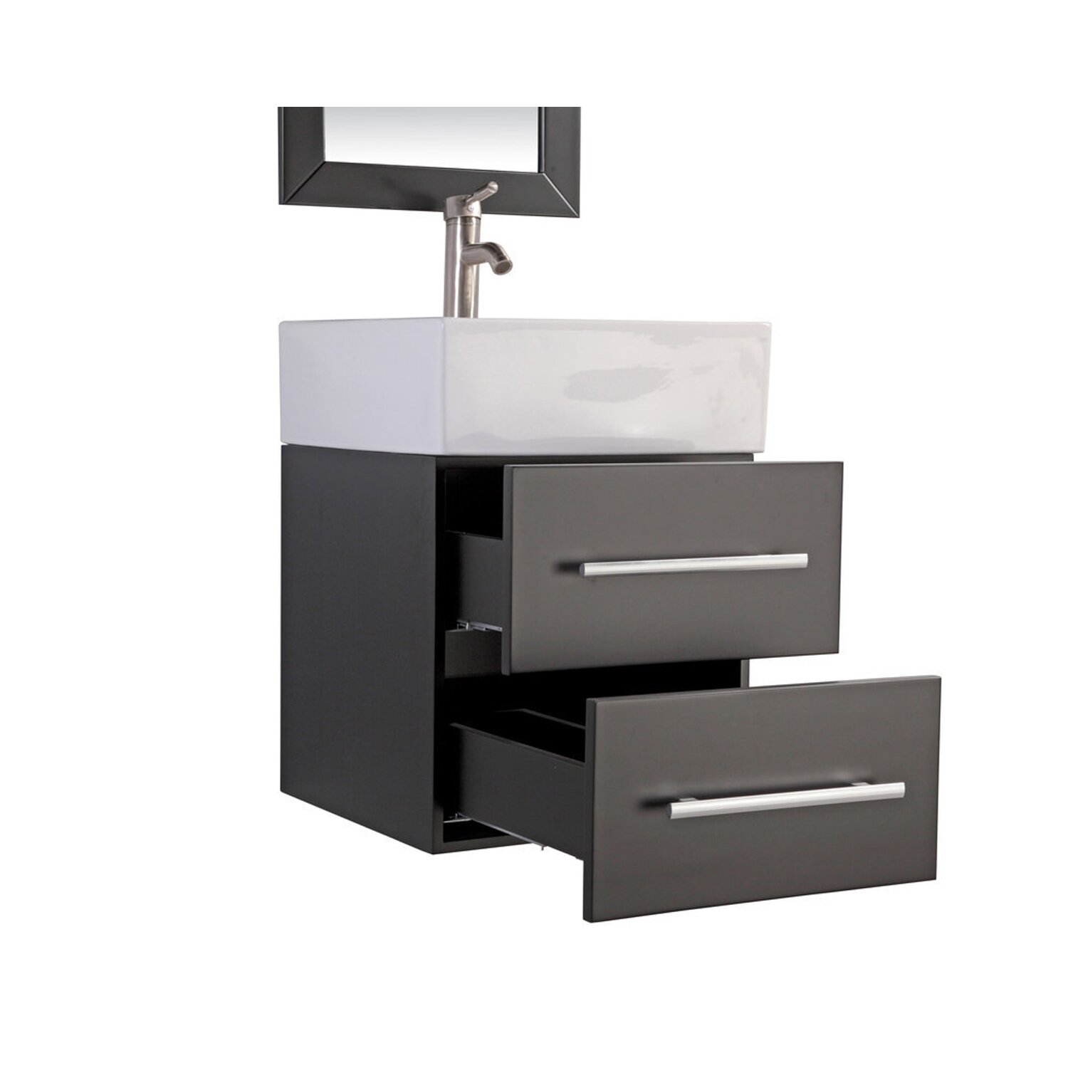 Mtdvanities Nepal 18 Single Sink Wall Mounted Bathroom