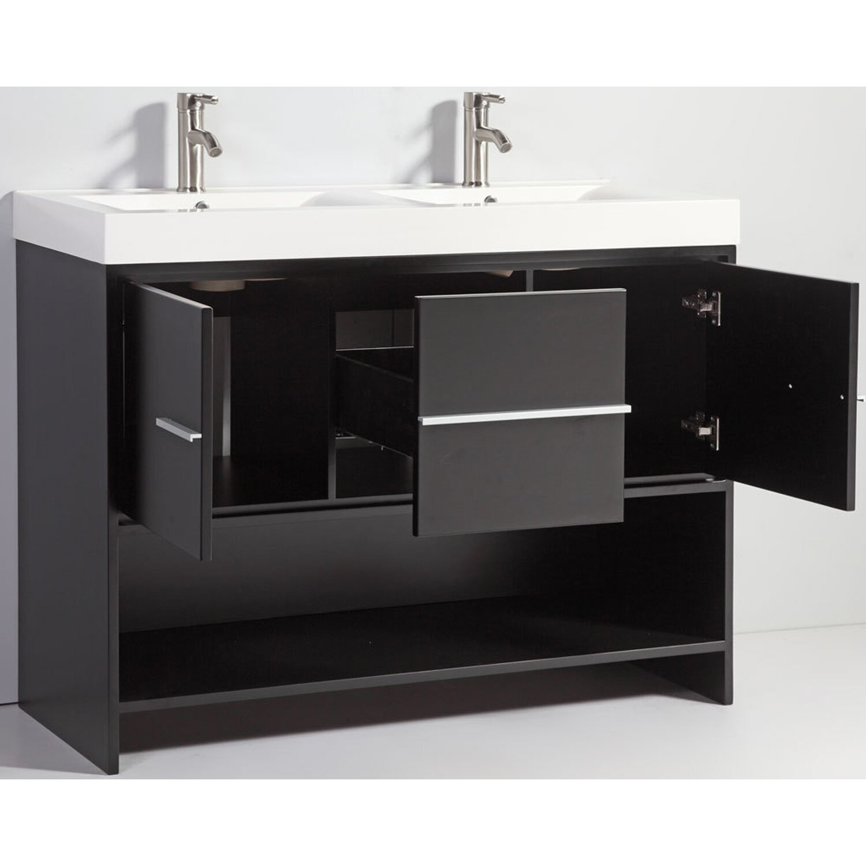 mtdvanities belarus 48 double sink bathroom vanity set