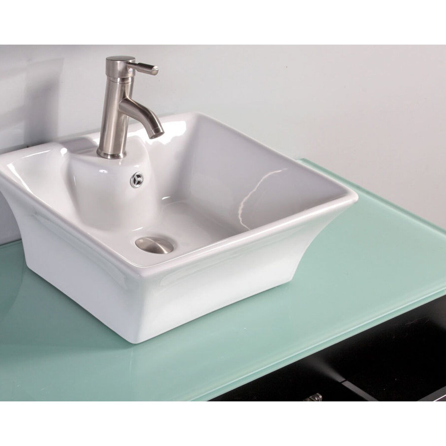 Mtdvanities nepal 48 single sink bathroom vanity set with for Kitchen sink in nepal