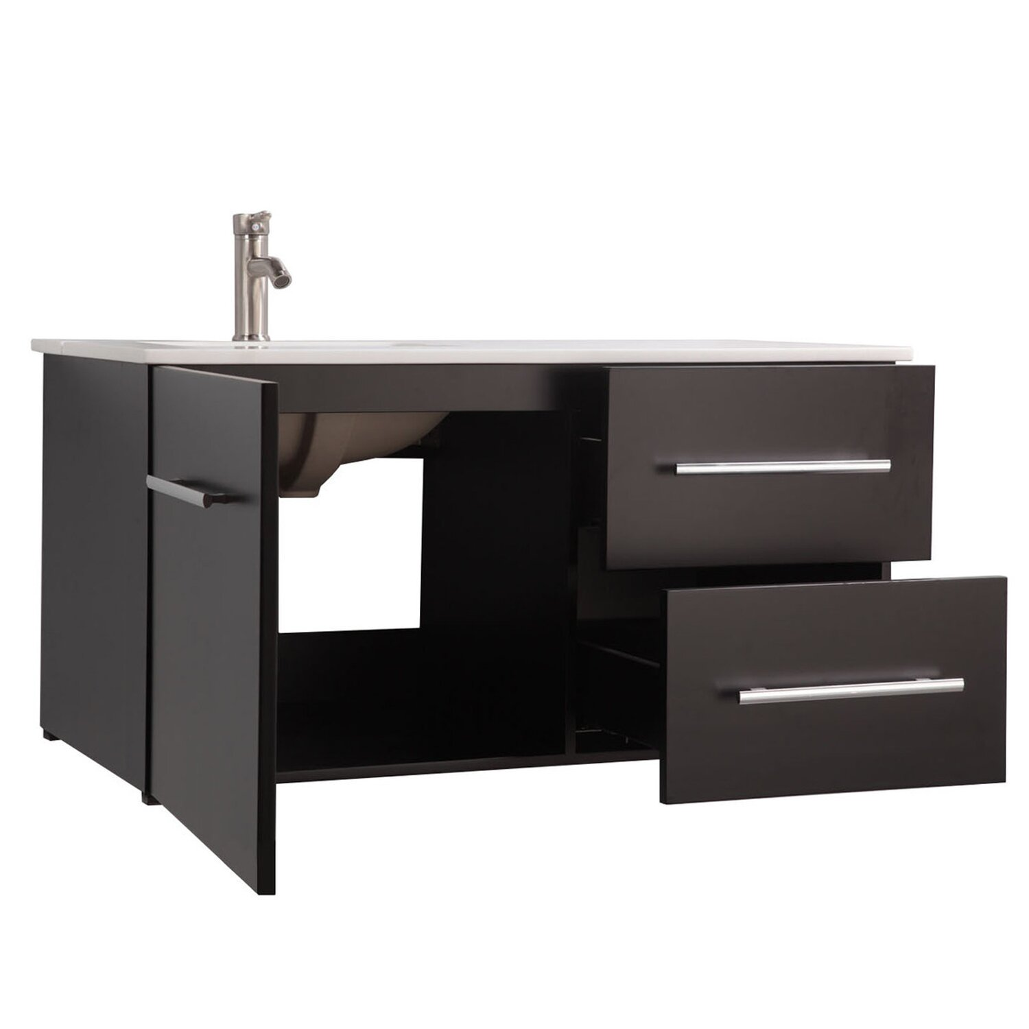 Mtdvanities nepal 41 single sink wall mounted bathroom for Kitchen sink in nepal