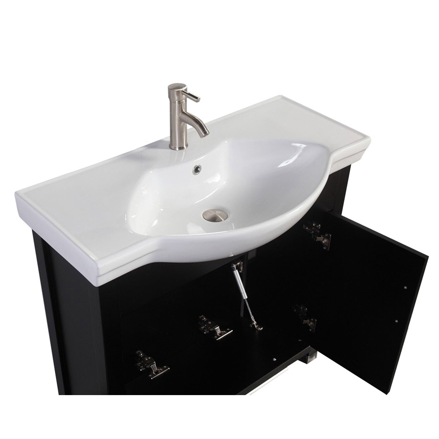 bathroom vanities single sink mtdvanities peru 36 quot single sink bathroom vanity set with 16949