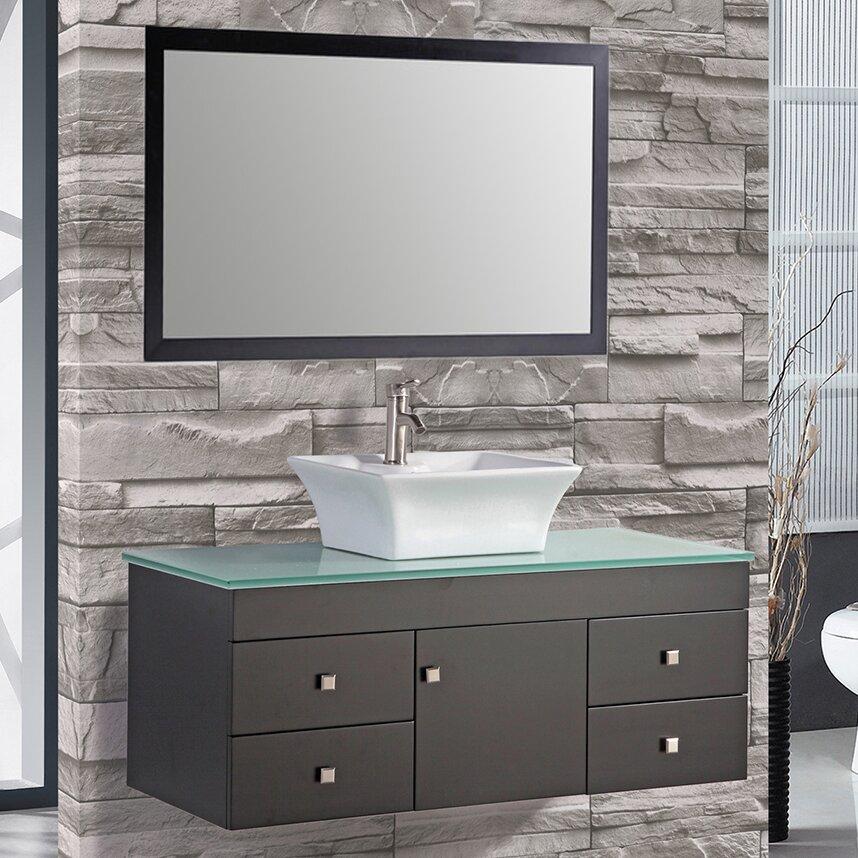 Mtdvanities nepal 48 single sink bathroom vanity set with for Bathroom designs in nepal