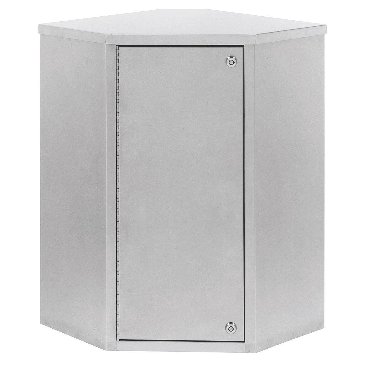 Omnimed 24 x 24 corner mount medicine cabinet Corner medicine cabinet