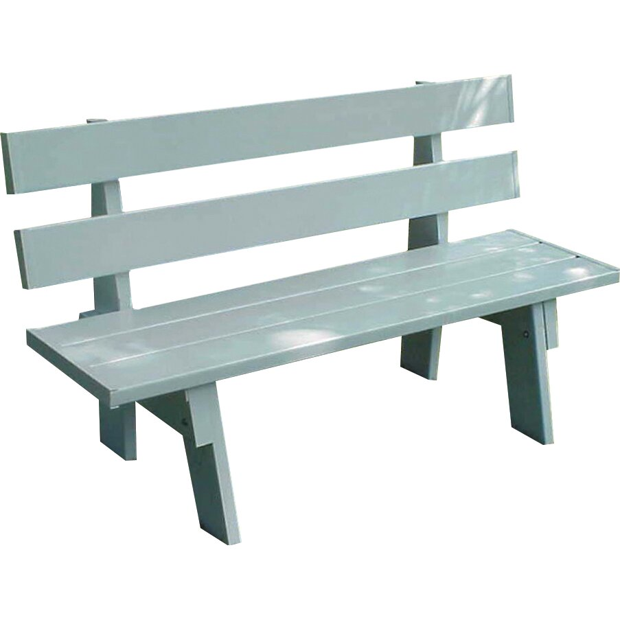 Dura Trel Inc Vinyl Park Bench Reviews Wayfair