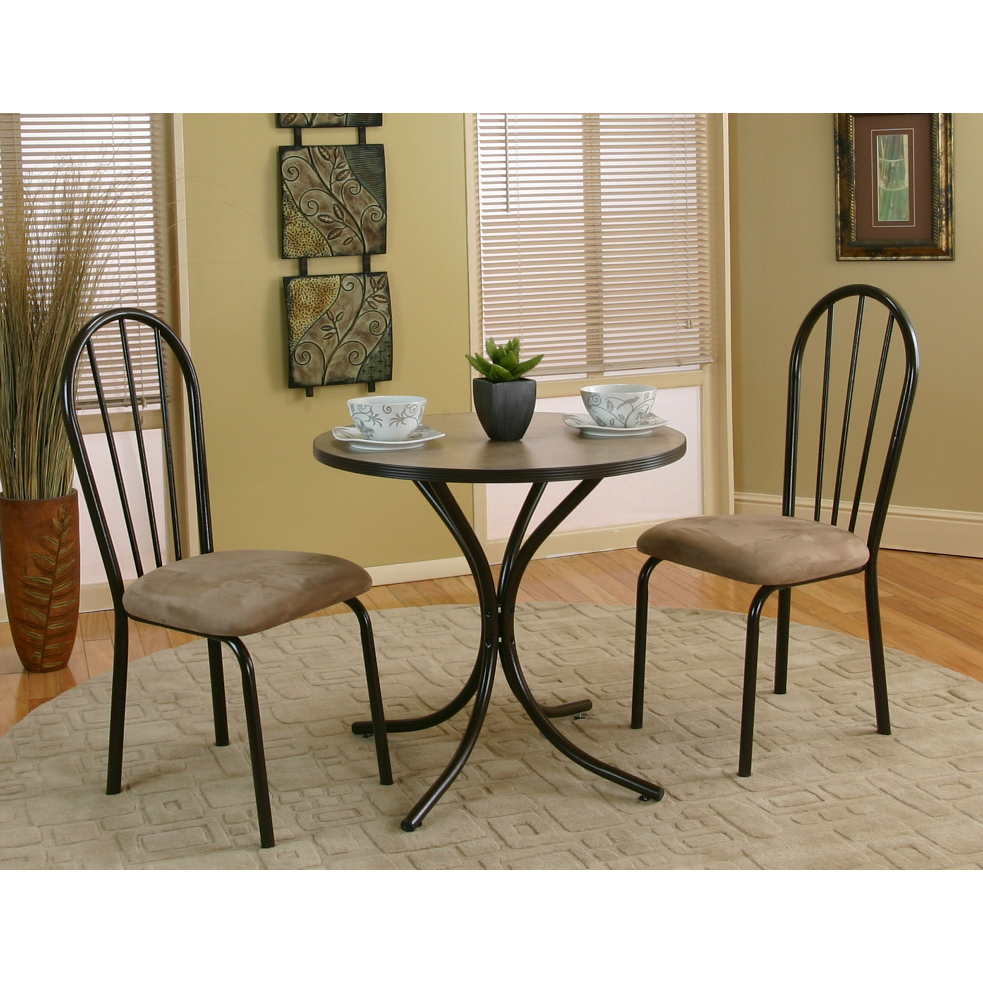 Casual Dinette Sets: Sunset Trading Casual Dining 3 Piece Dining Set & Reviews