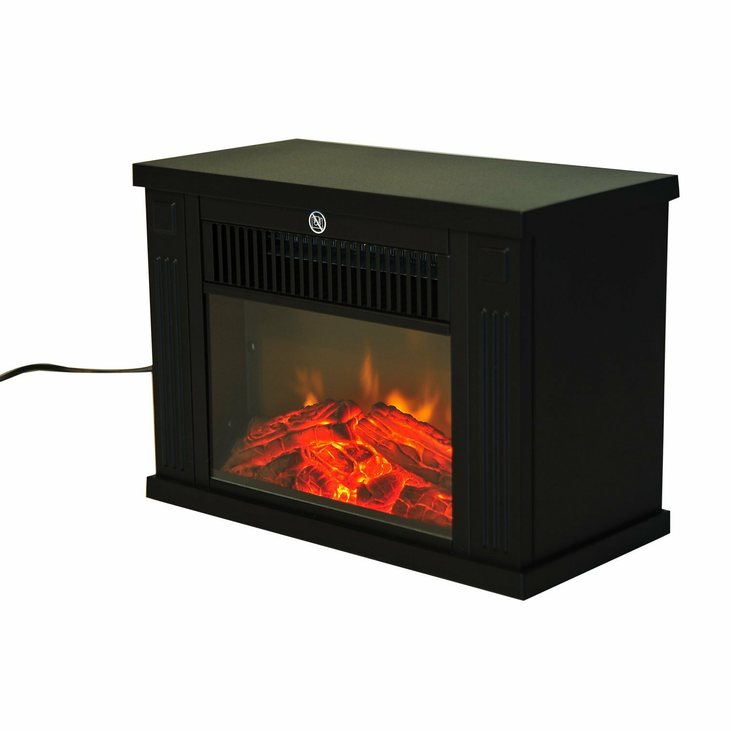 Homcom Freestanding Electric Fireplace Wayfair Uk