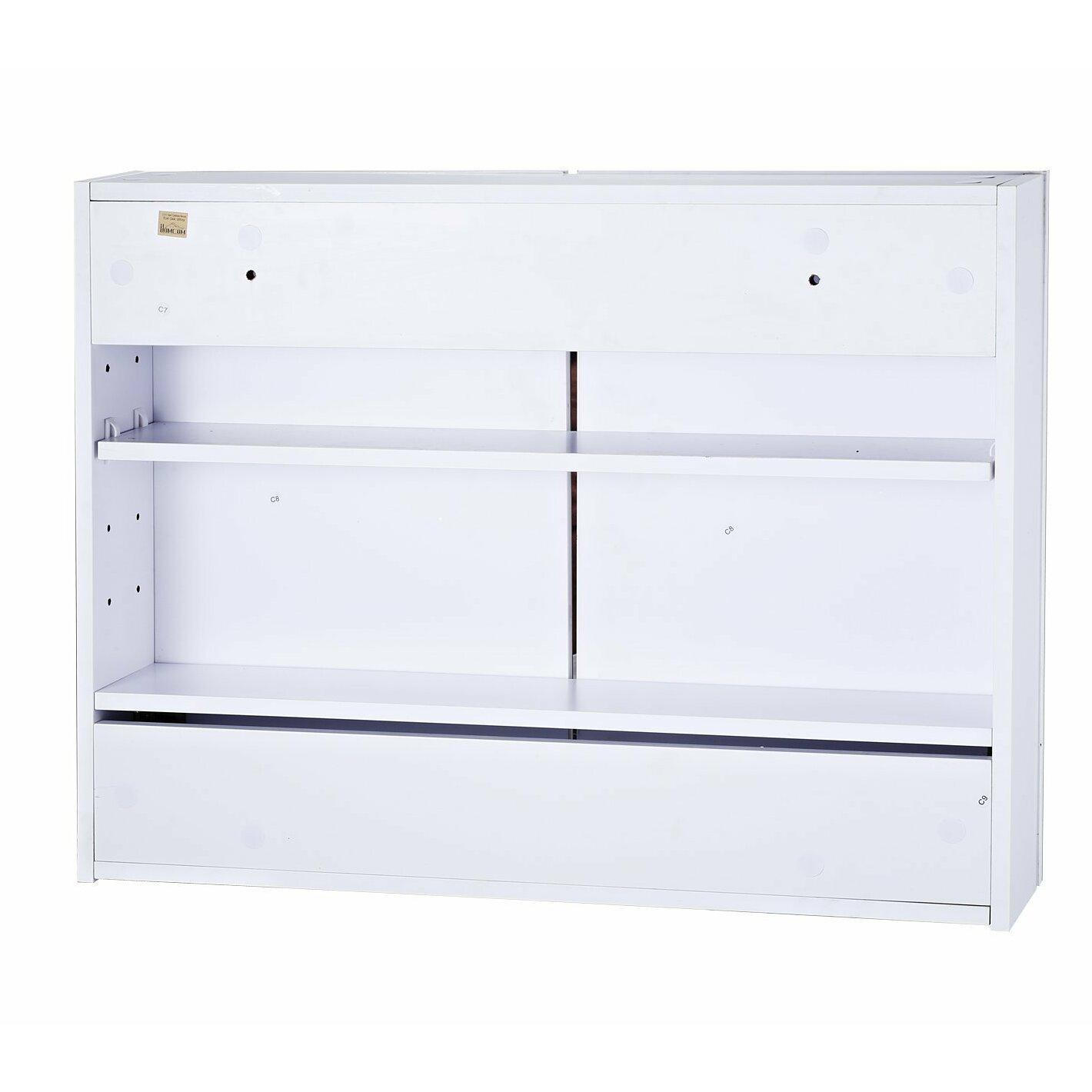 Homcom 60cm x 80cm surface mount flat mirror cabinet for Mirror 60cm x 80cm