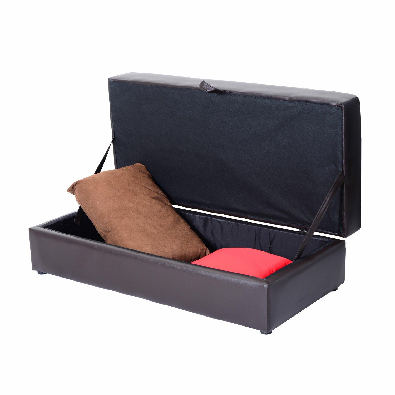 Homcom Storage Sleeper Couch Sofa Bed Wayfair Uk