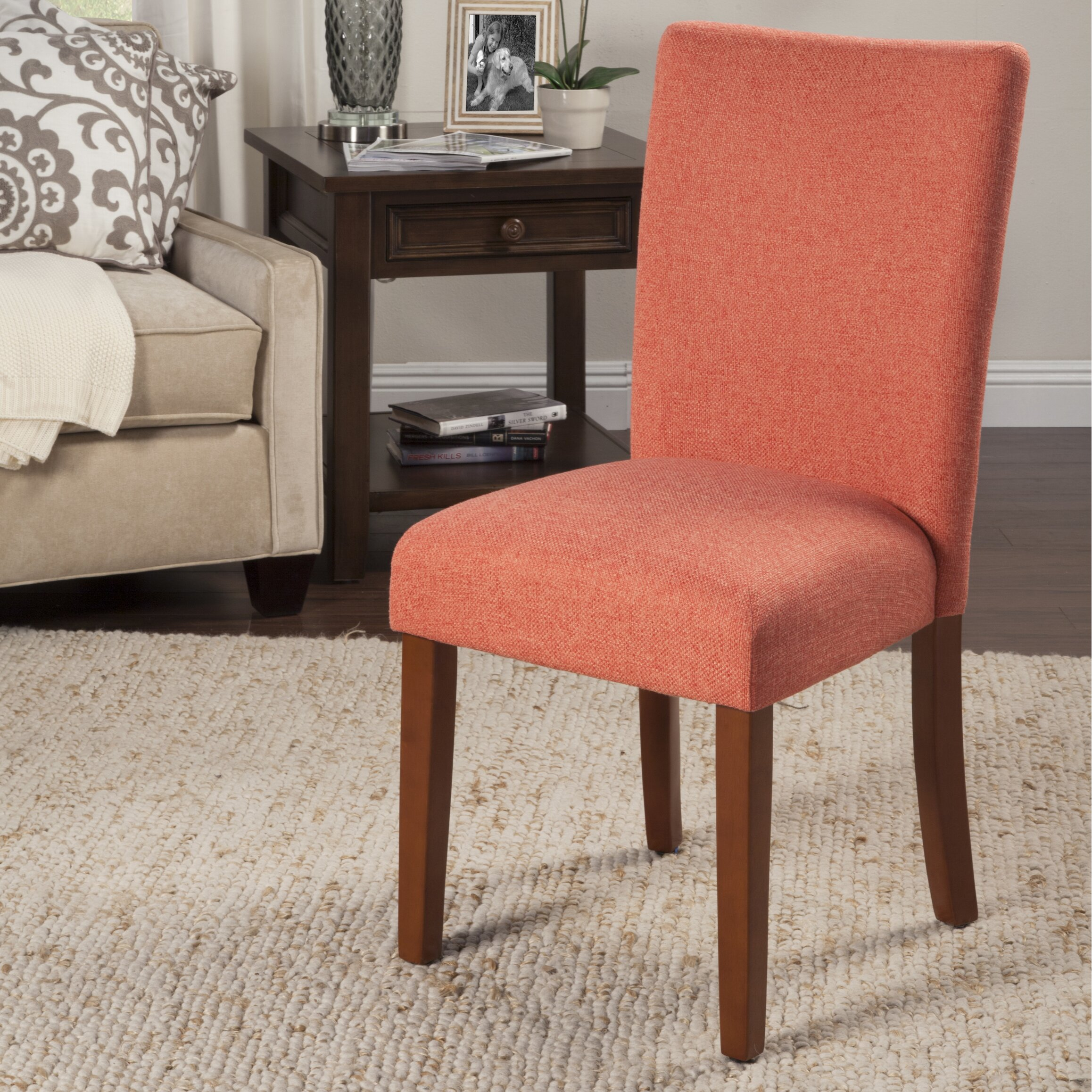 HomePop Trend Parsons Chair & Reviews