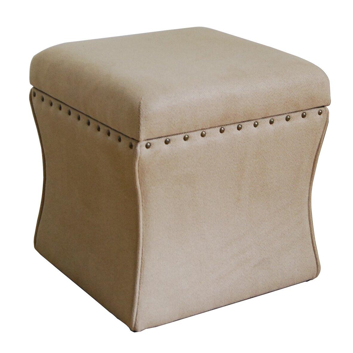 homepop cinch upholstered storage cube ottoman reviews. Black Bedroom Furniture Sets. Home Design Ideas