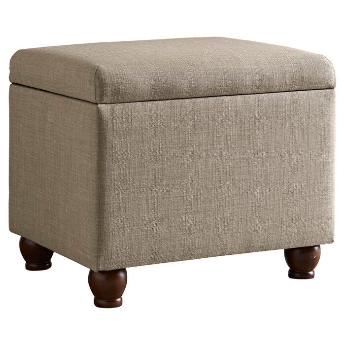 homepop upholstered storage cube ottoman reviews wayfair