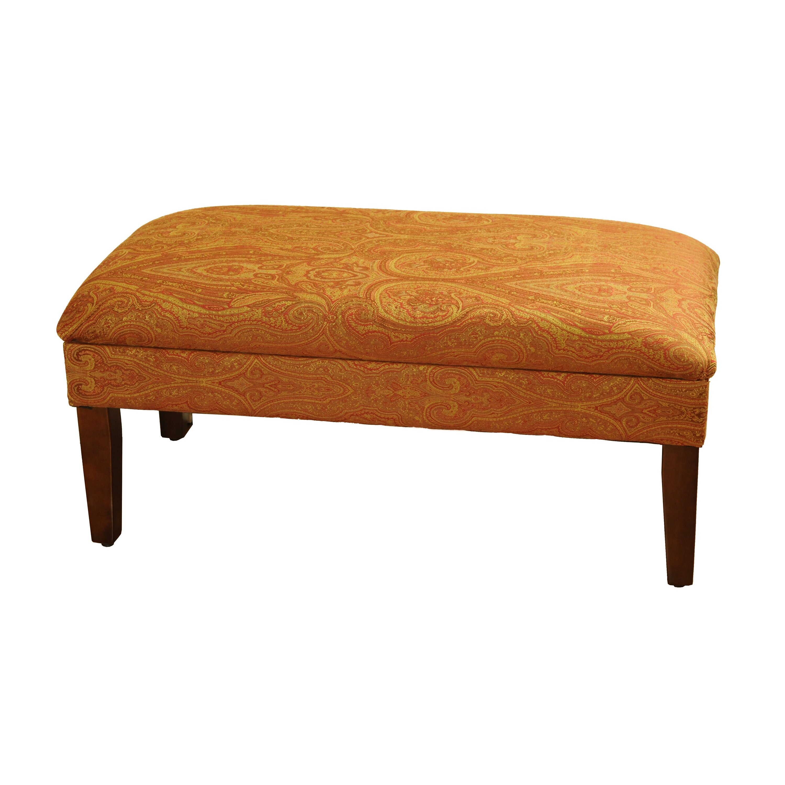 Varian Upholstered Storage Bedroom Bench Reviews: HomePop Upholstered Storage Bedroom Bench & Reviews