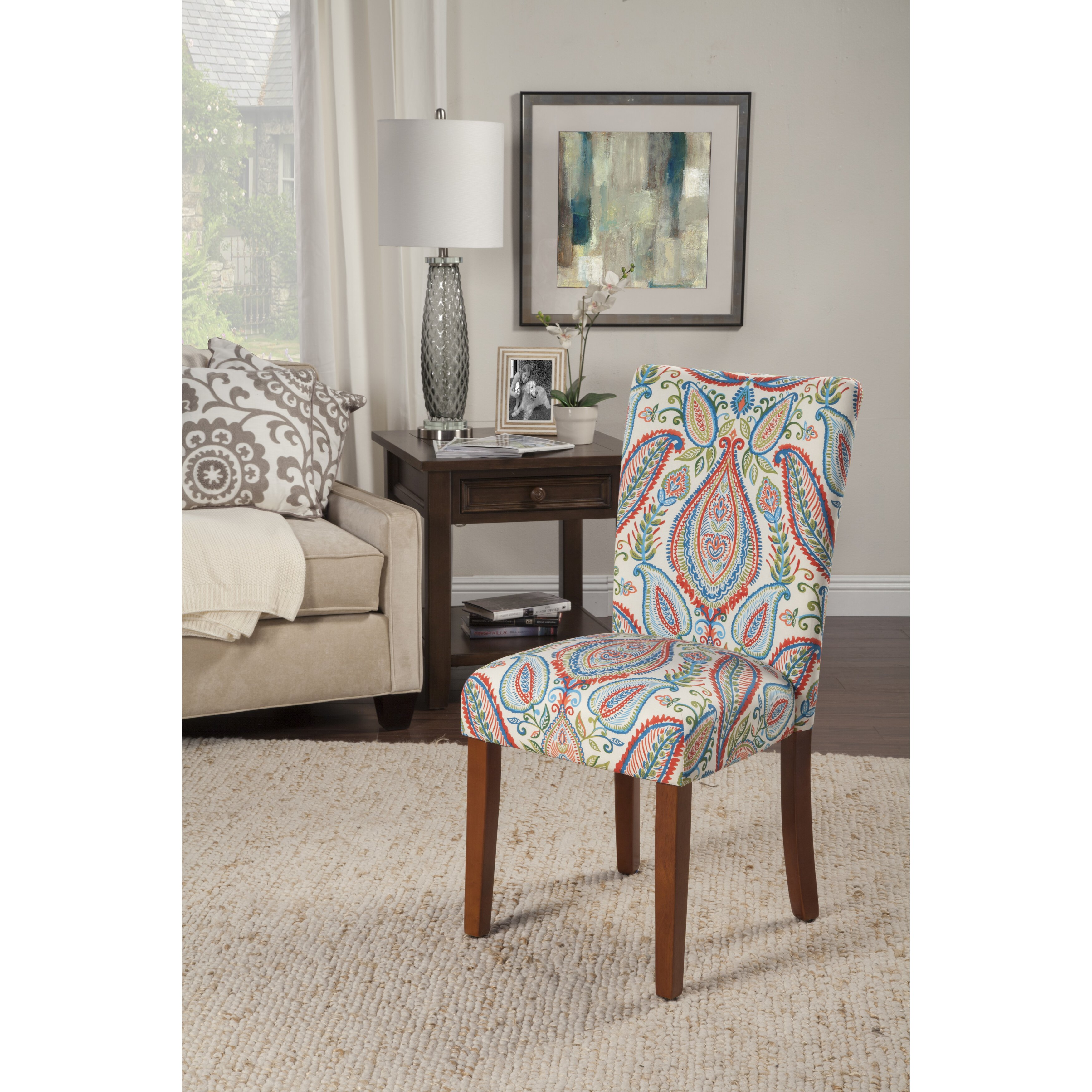 HomePop Paisley Parsons Chair & Reviews