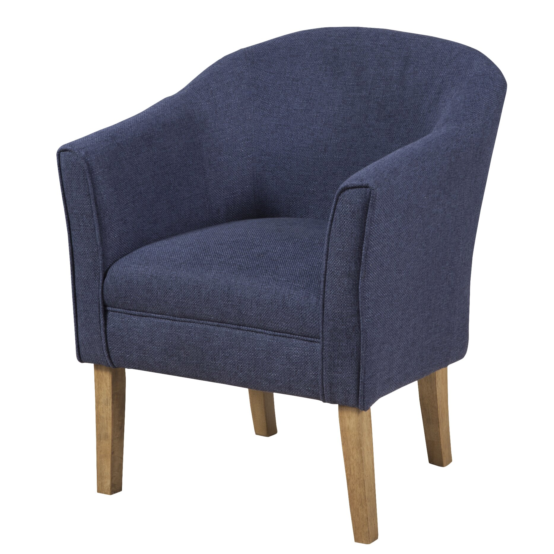 HomePop Upholstered Barrel Chair & Reviews