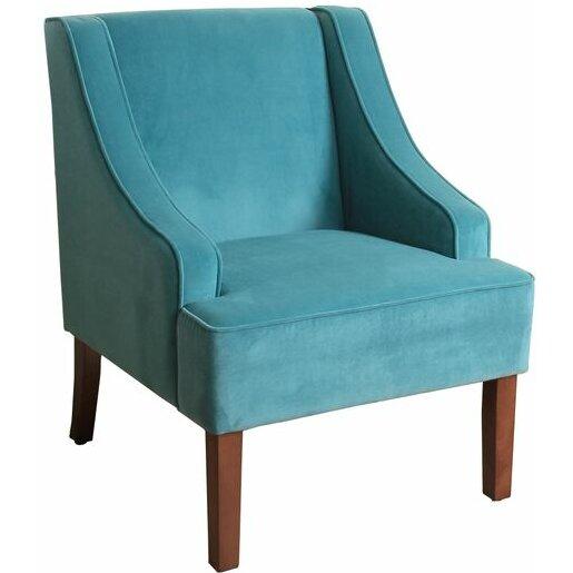 Homepop swoop arm chair reviews wayfair