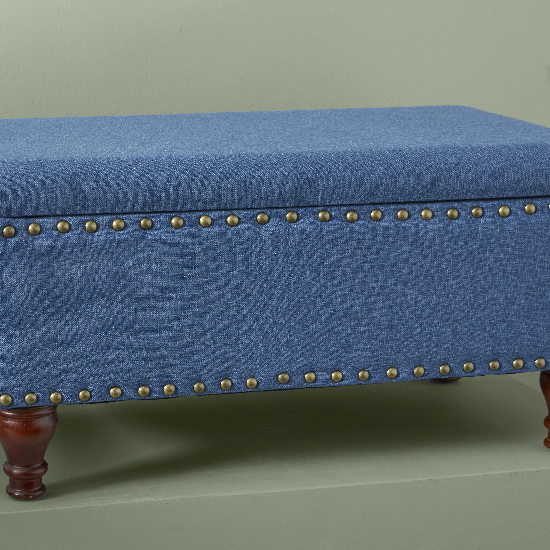Homepop Storage Bench Reviews: HomePop Filander Upholstered Storage Bench & Reviews
