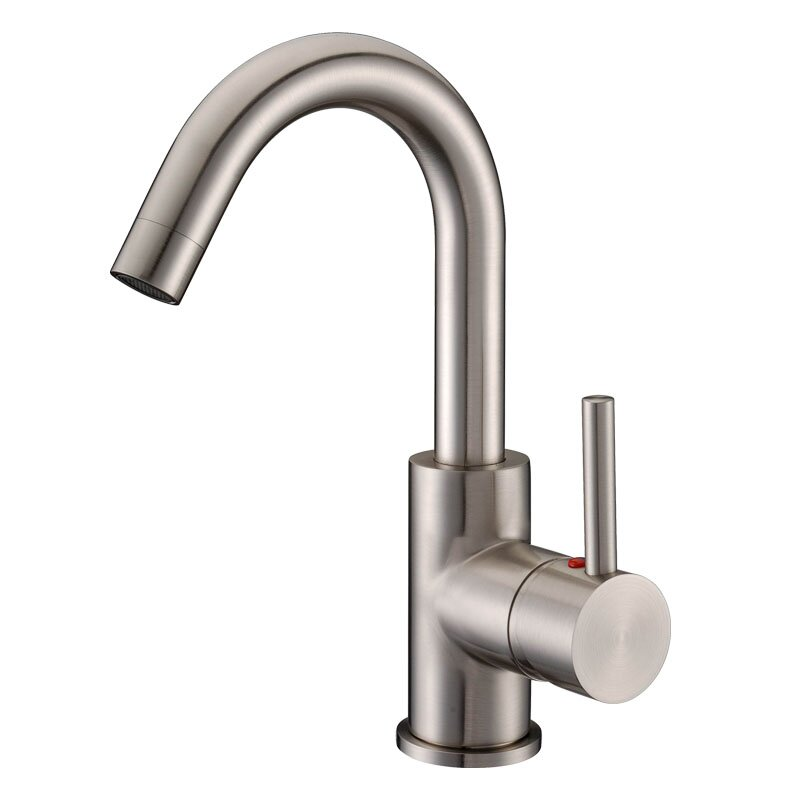 cadell single handle single hole bathroom faucet reviews wayfair. Black Bedroom Furniture Sets. Home Design Ideas