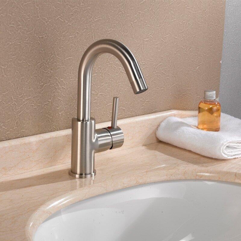 Cadell Single Handle Single Hole Bathroom Faucet Reviews Wayfair