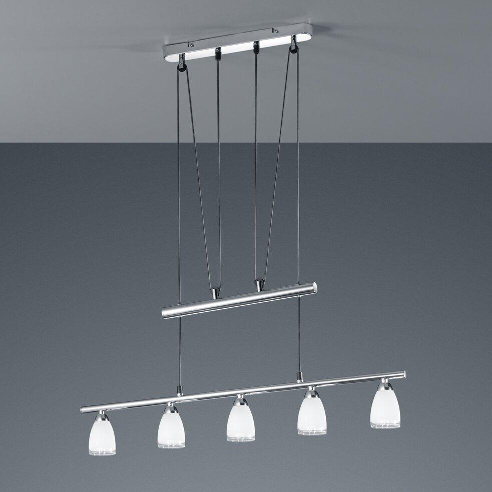 trio balken pendelleuchte 5 flammig von manufacturer. Black Bedroom Furniture Sets. Home Design Ideas