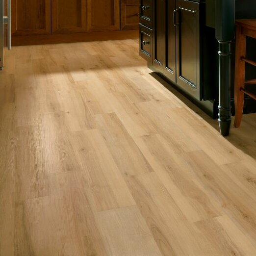 Armstrong luxe sugar creek maple 6 x 36 x luxury for Luxury linoleum flooring