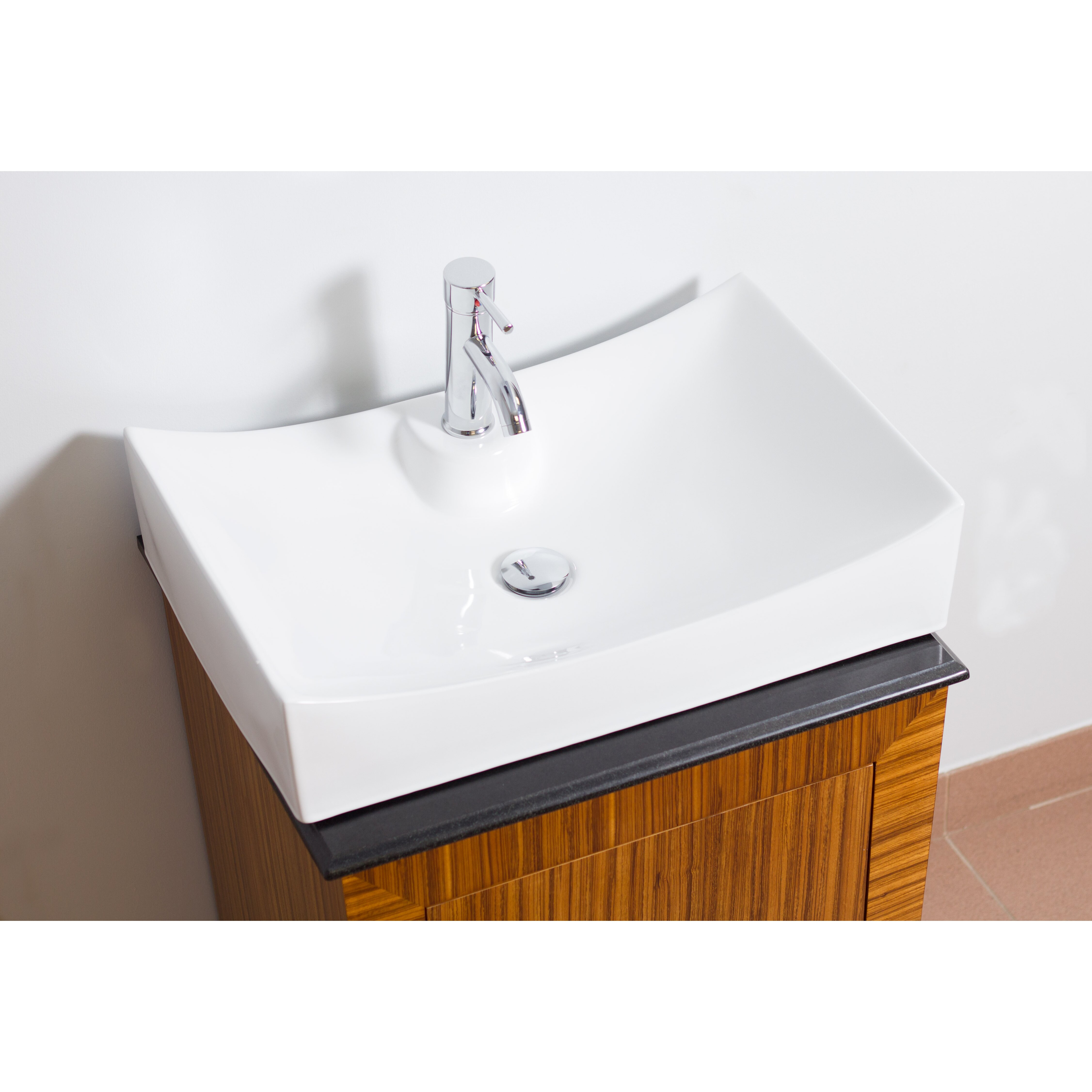 American Imaginations Above Counter Rectangle Vessel Bathroom Sink Reviews Wayfair
