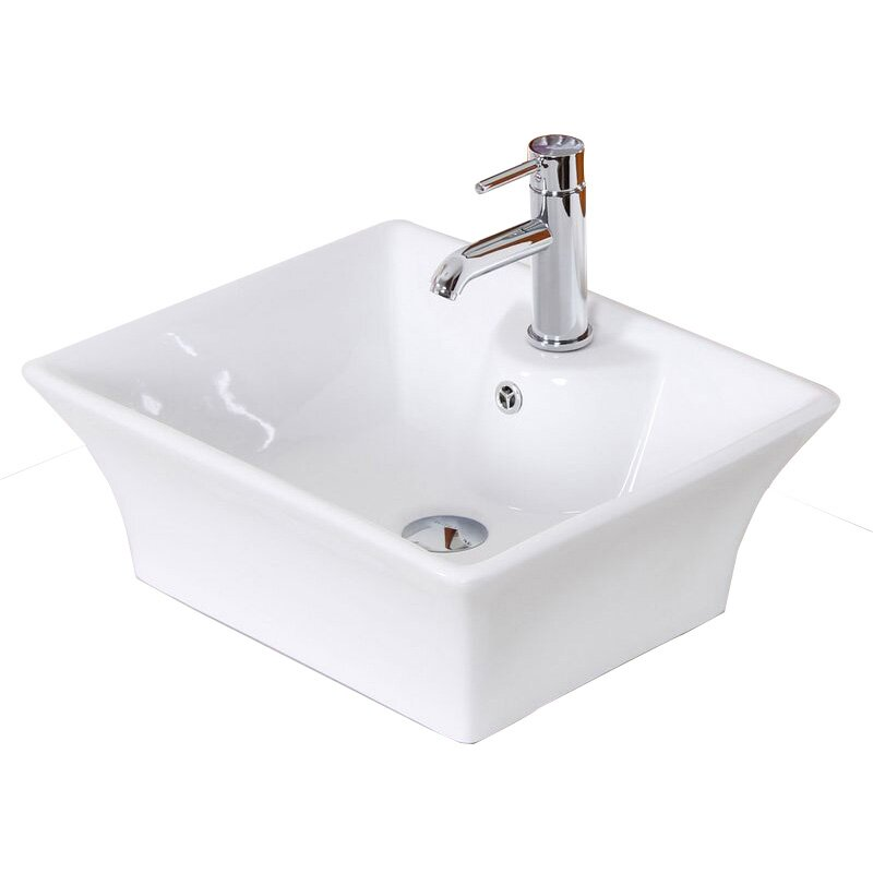above counter bathroom sink american imaginations above counter rectangle vessel 15343