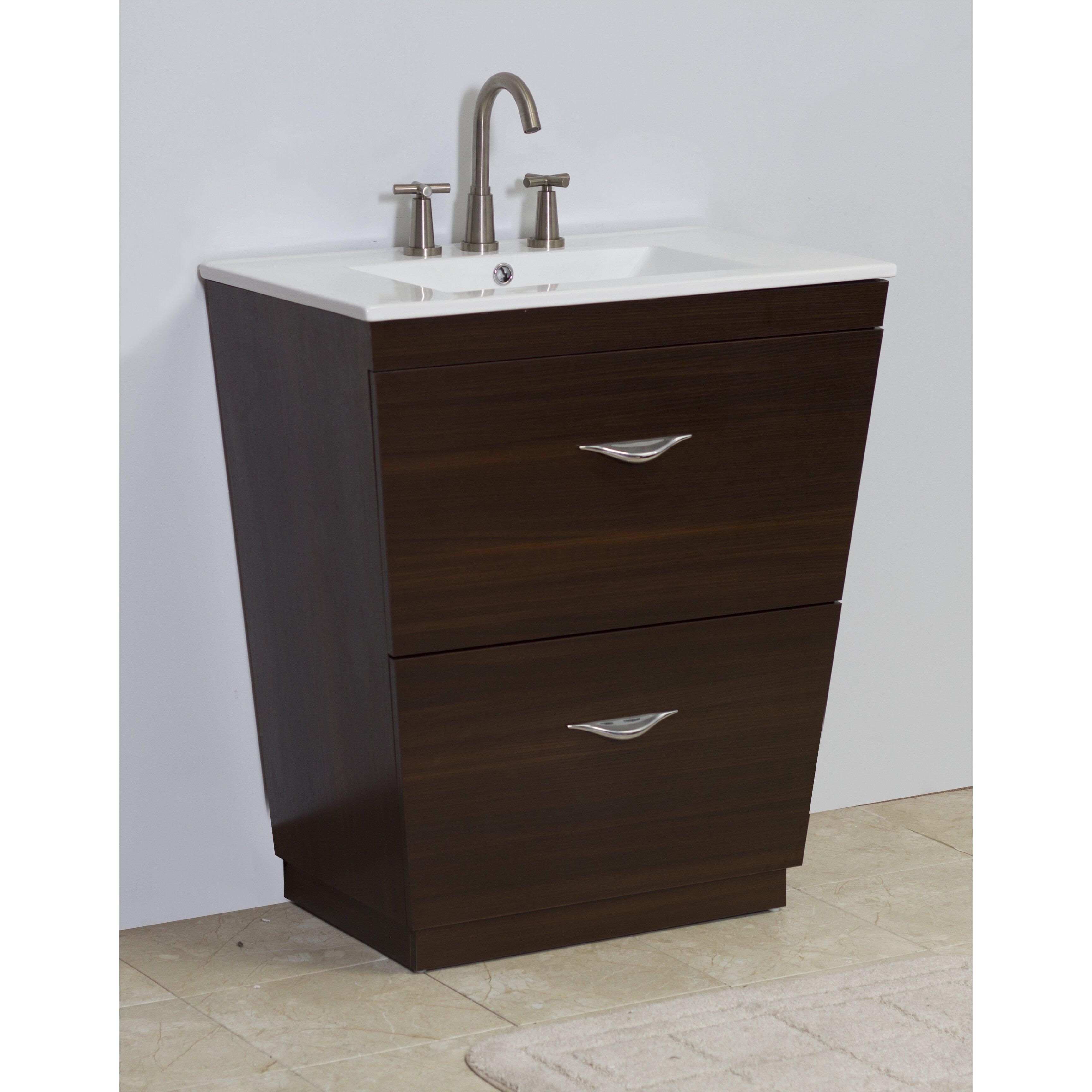 American Imaginations 21 Single Modern Bathroom Vanity Set Reviews Wayfair