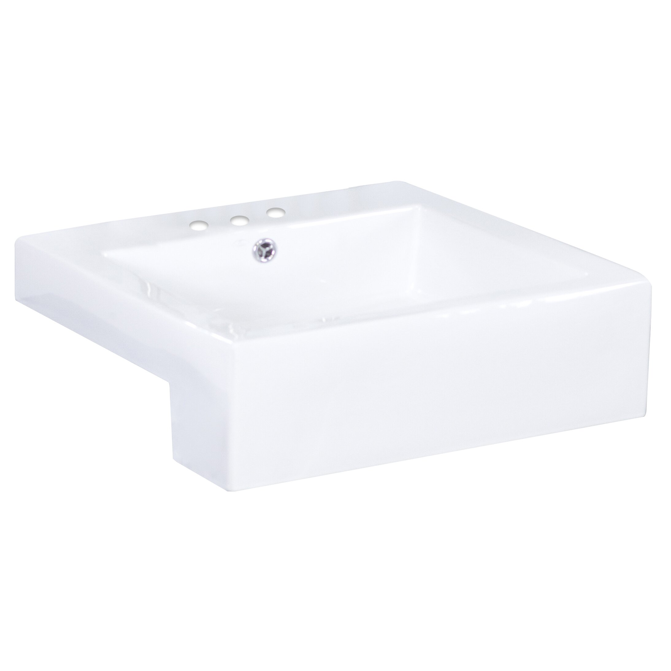 Square Vessel Bathroom Sink by American Imaginations