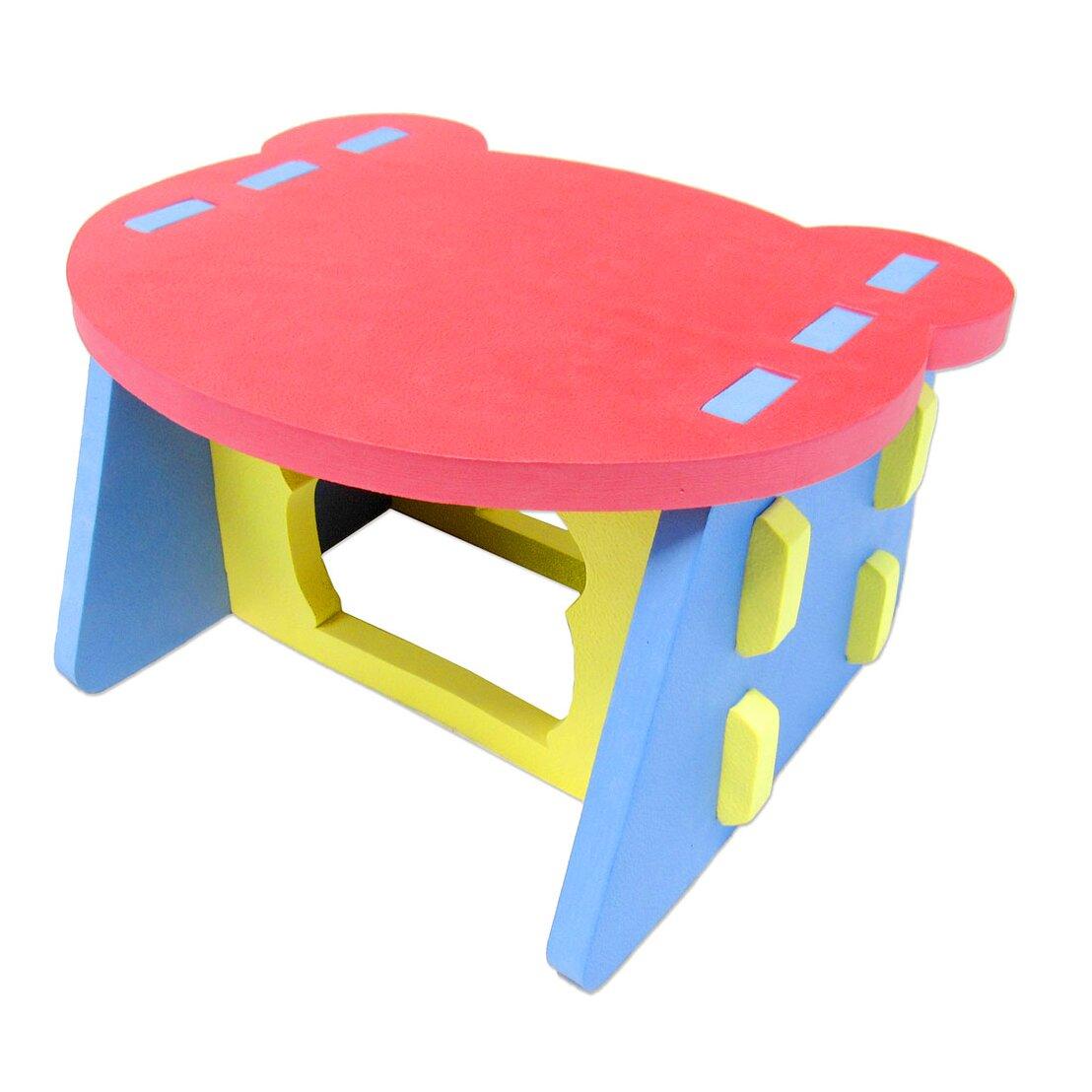 glopo kids square arts crafts table reviews wayfair. Black Bedroom Furniture Sets. Home Design Ideas