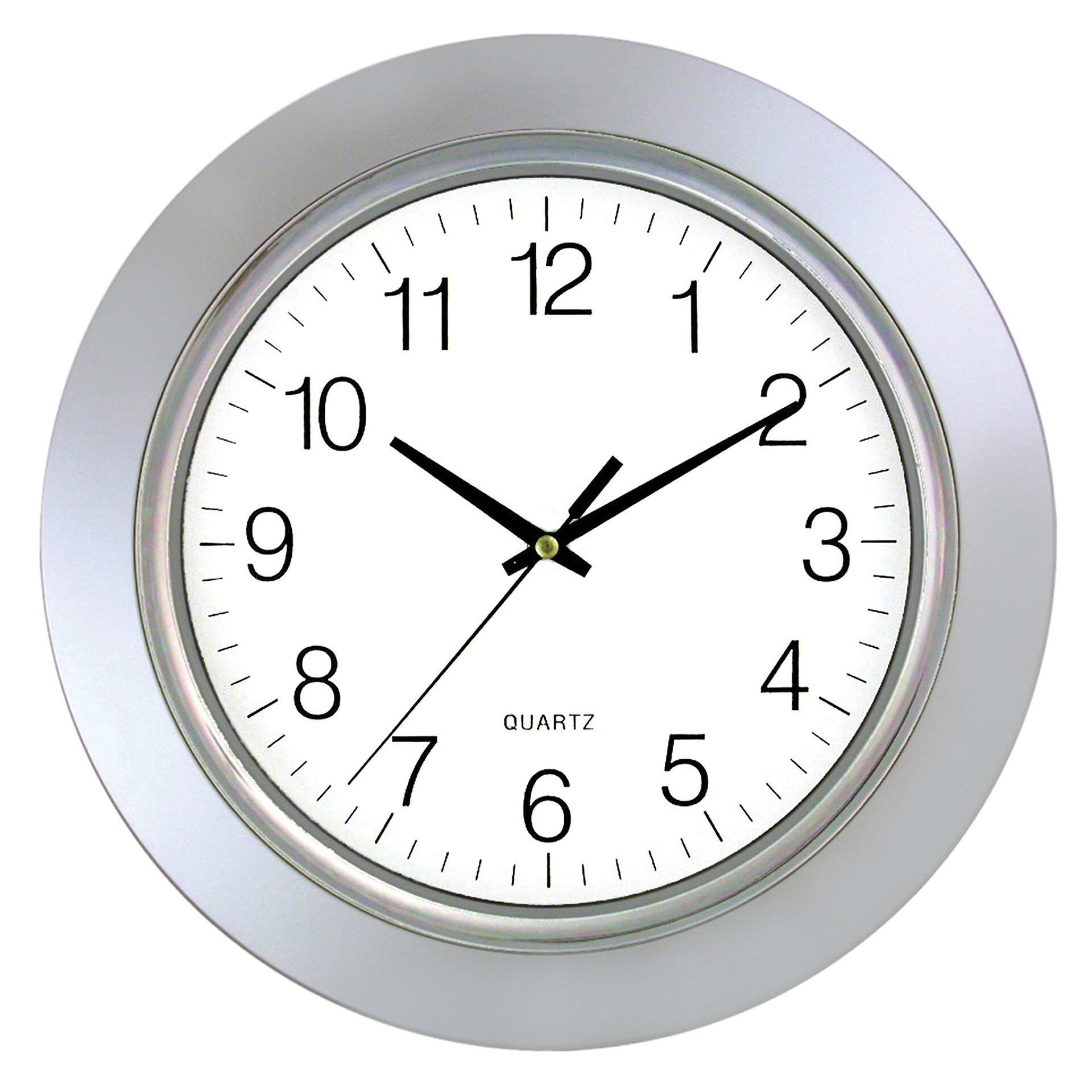 Artistic Products Chrome Bezel 13 Wall Clock Reviews