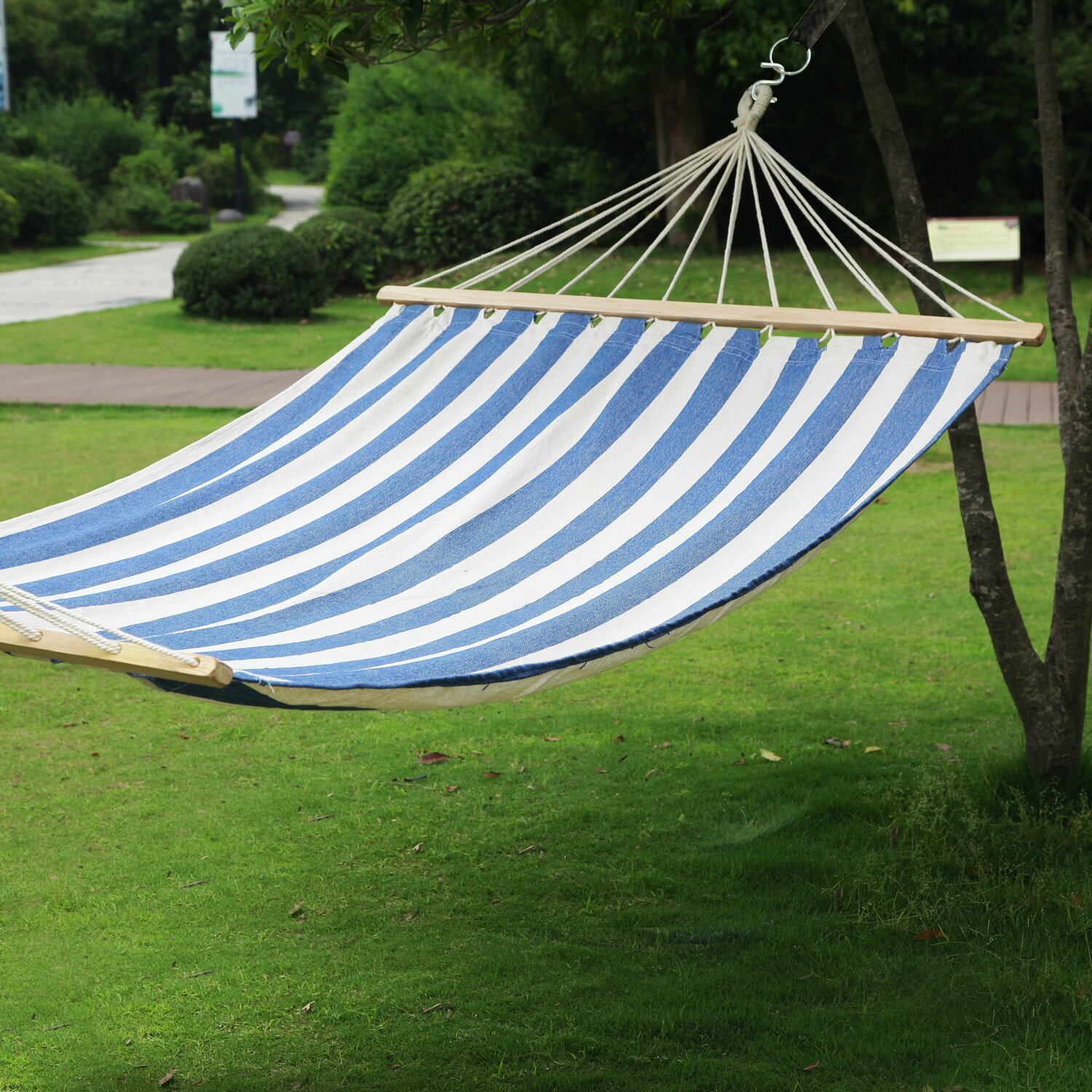 IndoorOutdoor Hammock Bed with Spreader Bar & Reviews  Wayfair