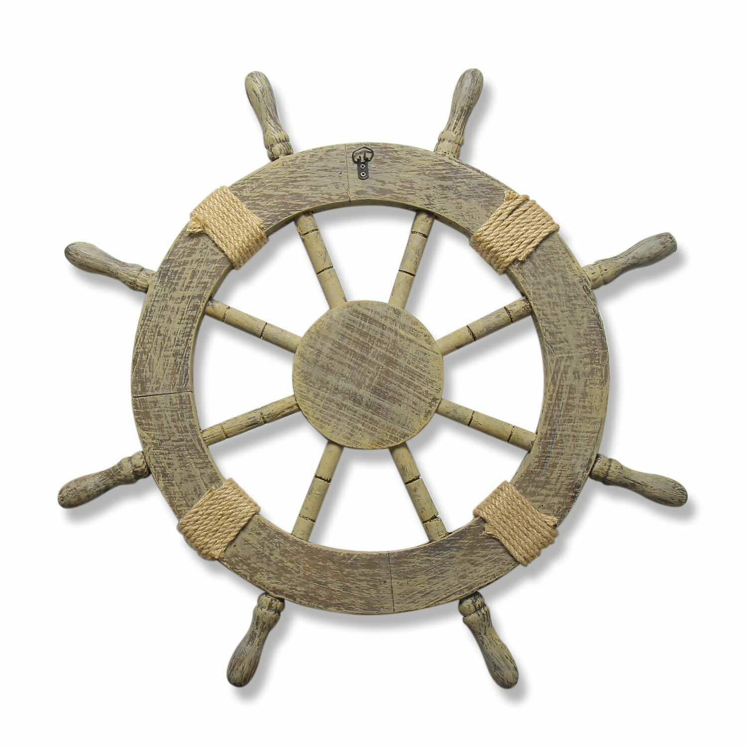 Nautical Wheel Decor: AdecoTrading Ornamental Nautical Ship Steering Wheel Home